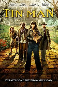 Tin Man is a science fiction retelling of The Wizard of Oz which reimagines Oz as a dystopian fantasy world taken over by an evil sorceress. Man Movies, Movie Tv, Jack Ingram, Kansas, Kathleen Robertson, Donnie Brasco, Prince, Men Tv, Tin Man