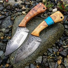 A pair of 3FingerEDC Blades.. LionsDenBlades.com