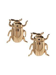 Beetle Stud Earring   Banana Republic