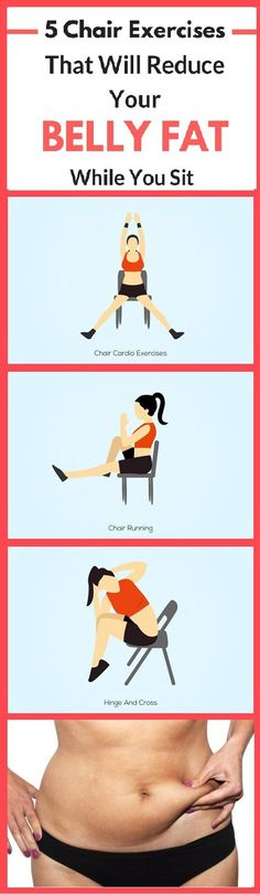 In case you are among those people who spend most of their time at work sitting, you need to definitely try these chair exercises, because they could help you get in shape while you are sitting!