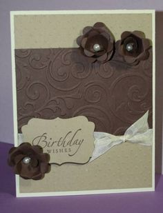 Thinking of Chocolate Cake Card by jostvig - Cards and Paper Crafts at Splitcoaststampers
