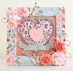 """Hello beautiful Kaisercraft Lovers...Happy new Year! Alicia here with you today to showcase the two gorgeous new January Kaisercraft Collections; """"True Love"""" and """"#Me"""". What a lovely time I have h..."""