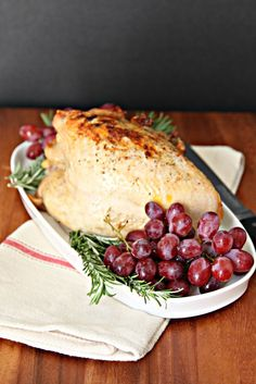 Roasted Turkey Breast. Perfect for a smaller Thanksgiving dinner.