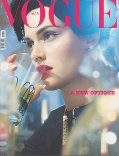 Amber Valletta by Steven Meisel Vogue Italia October 2001
