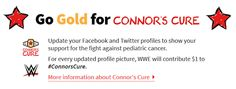#ABasedeSoja: Go Gold for #Connorscure!