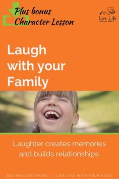 Do you laugh with your family? Laughter is a key ingredient for family life. It…