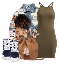 """#95: Summer Time Fine..."" by chilly-gvbx ❤ liked on Polyvore featuring Linda Farrow, UGG and Vans"