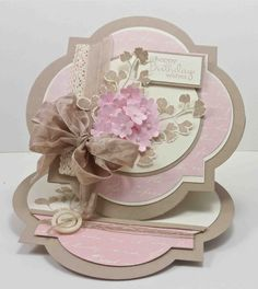 11/15/2012; Narelle Farrigua at 'Stamplicious' blog; SU Framelits; love everything about this card!