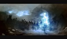 Kaladin infusé de fulgiflamme ~inspiré de la voie des rois, Brandon Sanderson~