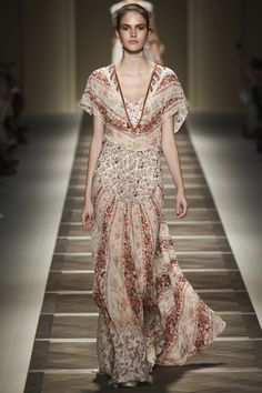 Etro Spring 2016 Ready-to-Wear Fashion Show - Vanessa Moody