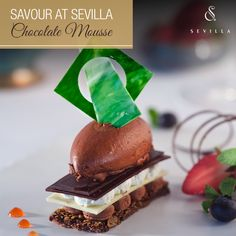 Sweet temptations for all your cravings await you at Sevilla.