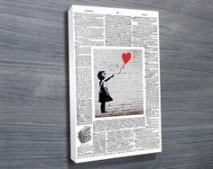 We have a collection of more than 60 great Banksy Art Prints, these prints of the graffiti artworks include many of his most famous art such as Balloon Girl Banksy Canvas Prints, Banksy Artwork, Art Prints, Banksy Artist, Artist Wall, Photo Canvas, Canvas Art, Canvas Prints Australia, Framed Art