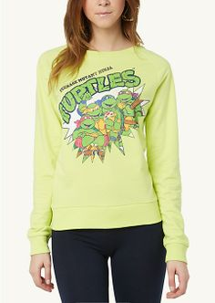 Ninja Turtles Throwback Sweatshirt | Sweatshirts & Hoodies | rue21  $21.99 Size: Large