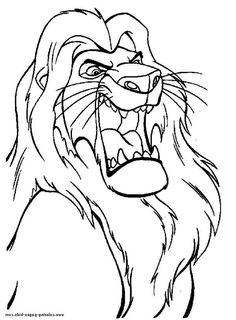 22 best lion king coloring page images in 2020  coloring