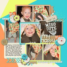 GingerScraps :: Templates :: One Page Templates :: Life Pages 4 Templates by JB Studio