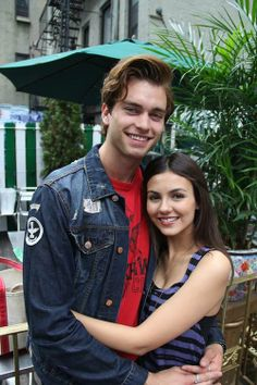 images about victoria justice and pierson fode on