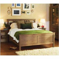 Superieur Our New Hemnes Bed From Ikea  In Grey Brown Just Bought This For Our