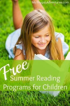 "Free Summer Reading Programs- lots of chances for the kids to earn prizes, free books and rewards for reading this summer!  Pin this for when the ""Mom I'm Bored!"" sets in."