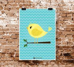 Pôster - Pássaro sabido