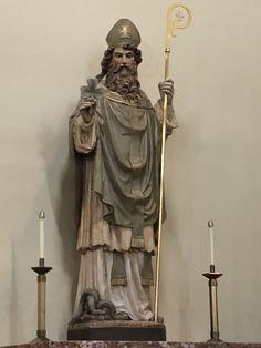 Statue of St. Patrick Church, West Park, Cleveland, OH 44135 Catholic School, St Patrick, Cleveland, Statue, Park, Parks, Sculptures, Sculpture