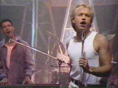 ▶ It's Over by Level 42.  This is a special song for me - I met Mark King (lead singer) before one of their shows and during the show he dedicated this song to me (long story only relevant to me really!) - sad song but lovely memory. Can't find their original video so Top of the Pops will have to do!