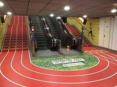 Zou jij nog de roltrap kiezen? Een ingenieuze manier om mensen aan te zetten tot bewegen!