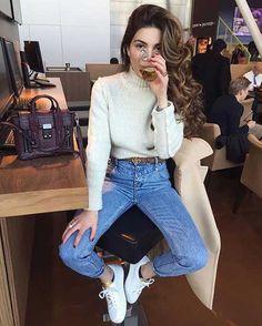 20.Yüksek Bel Pantolon Kombin