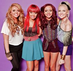 Little Mix. UK's X Factor 2011 winners :)