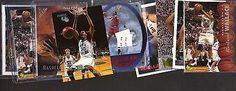 awesome (9) RASHEED WALLACE NBA Basketball Rookie Lot - CLASSIC SPX UPPER DECK TOPPS - For Sale