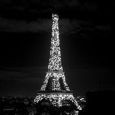"""#eiffeltower #blackandwhite #cityoflights #paris #toureiffel #nikon #d7100"""