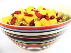 Chiapudding med mango