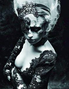 Editorial #gothic princess detalle cabello *.*