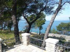 croatia island beach hut