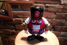 M M's Nutcracker Candy Dispenser, Collectible M&M, Red M and M, candy dispenser, Nutcracker by Morethebuckles on Etsy