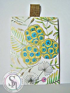 Designed by Laine using Colorista Natural Beauty Premium Pencil Pad with Foil…