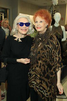 Ann Slater and Arlene Dahl
