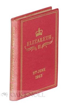 CORONATION OF HER MAJESTY QUEEN ELIZABETH II.