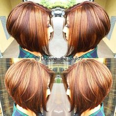 Beautiful Cup Ideas And Trendy Colors Spring New Hair Color Ideas Short Hairstyles 2015, Wavy Bob Hairstyles, Angled Bob Haircuts, Cool Haircuts, Medium Hair Styles, Short Hair Styles, Haircut And Color, Short Hair Cuts, Hair Trends