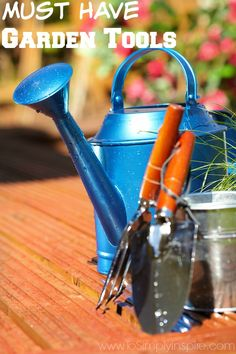 Gear up for your stunning garden!  Grab these must have gardening tools to help you paint, maintain and adore your garden.