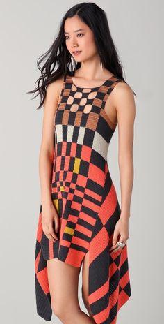 Crochet - tejido de punto y ganchillo: Jen Kao - Primavera-Verano 2012!.