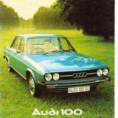 Audi 100 LS  My 1st car, mid 70's 100LS