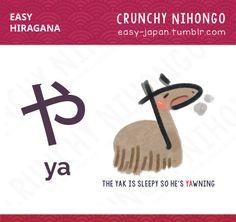 Crunchy Nihongo! - BASIC - EASY HIRAGANA Let's get to the basics~...