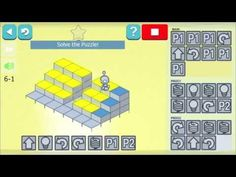 Lightbot, app to solve puzzles using Programming Logic Computational Thinking, Apps, New York Times, Google Play, Programming, Puzzles, Coding, Education, Shapes