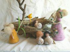 #Blumenkinder #Filz #Jahreszeitentisch #Frühling #Waldorf