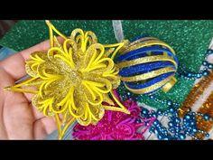 Cardboard Crafts, Foam Crafts, Decor Crafts, Diy And Crafts, Paper Crafts, Foam Christmas Ornaments, Christmas Crafts, Balloon Crafts, Xmas Decorations