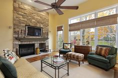 Living Room With Tv, Family Room Design With Tv, Living Tv, Living Room Setup, Small Room Design, Eclectic Living Room, Living Room With Fireplace, Small Living, Living Rooms