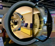 Tiny House Architecture with the OPod Tube Housing. By James Law.