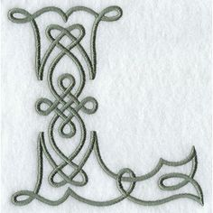 A Celtic Knotwork Alphabet Design Pack (2 Inch Height) - This website has a HUGE amount of machine embroidery designs. Description from pinterest.com. I searched for this on bing.com/images