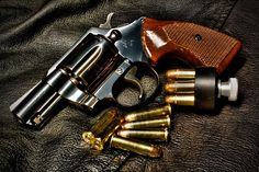 Colt Detective Special revolver HDR (Photo Credit: Mike Fett)Find our speedloader now!  http://www.amazon.com/shops/raeind