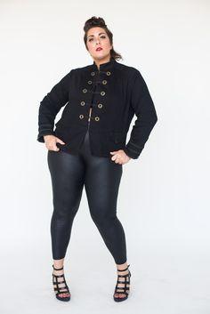Re/Dress Online - Drill Sergeant Jacket - Black, $44.00 (http://www.redressnyc.com/drill-sergeant-jacket-black/)